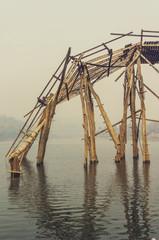 Collapsed Mon Bridge
