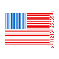 United States Bar Code Illustration