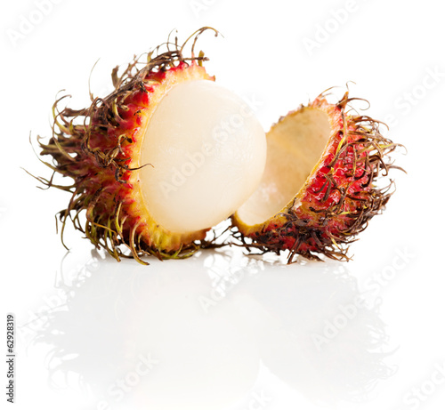 Tropical fruit, rambutan