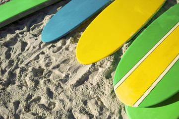Stand Up Paddle Surfboards Copacabana Rio Brazil