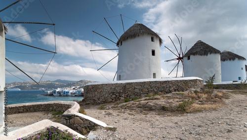 Mykonos island windmills © Mulden