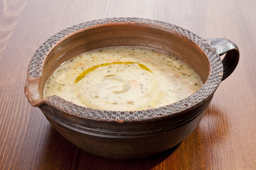 Potato soup with Vegetable