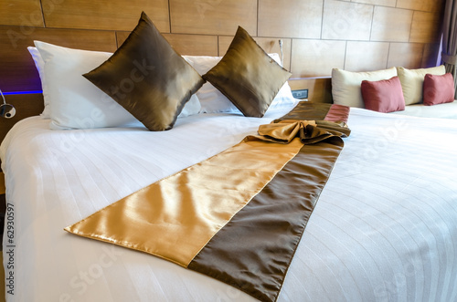 Bedroom decoration modern design in thai style