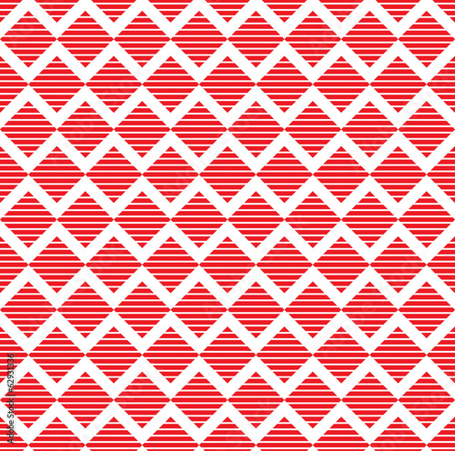 seamless colorful zig zag triangle pattern