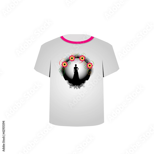 T Shirt Template- supermodel