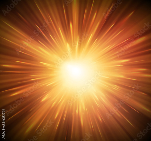 Background with explosion - 62932131