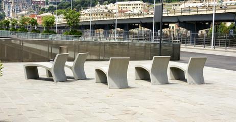 Espacio de relax en Génova, Italia
