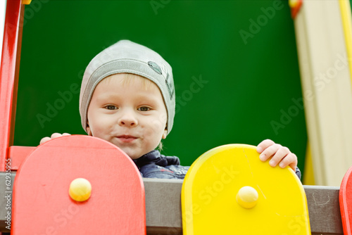 boy on the playground
