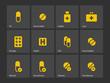 Pills icons.
