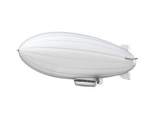 white zeppelin copy space