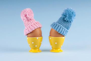 maschio femmina uova Pasqua