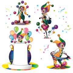 clowns set