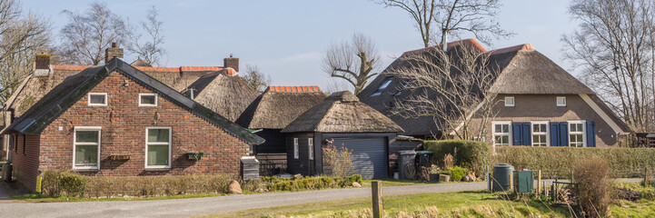 Old Dutch houses