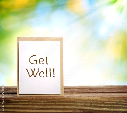 Get well message