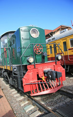 Green Locomotive