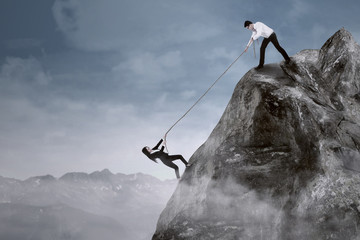 Business help to overcome adversity