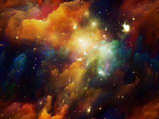 Vibrant Nebula