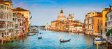 Fototapety Canal Grande panorama at sunset, Venice, Italy
