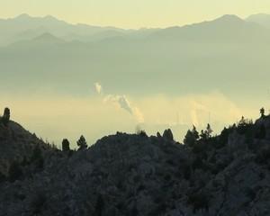 doğadan çevre kirliliği görüntüsü