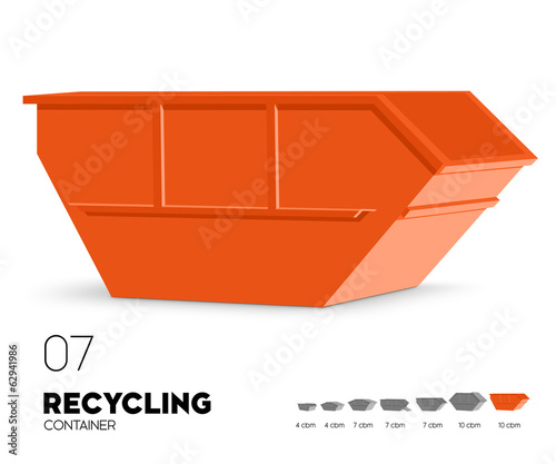 Recycling - Container offen 10 cbm