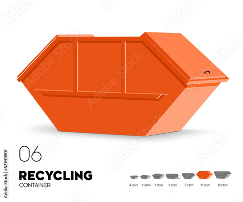 Recycling - Container 10 cbm