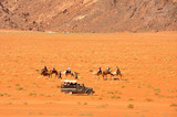 Desert safari in Wadi Rum desert, Jordan