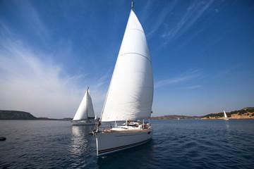 Sailing. Luxury Yachts.