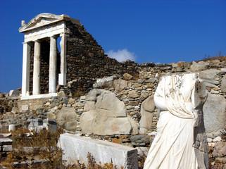 Pantheon in Delos