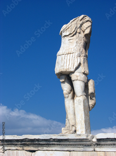 Stone Sculpture in Delos,Greece