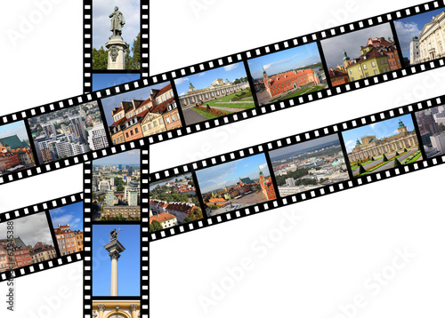 Poland - Warsaw film strips