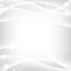 Silver waves background