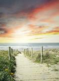 Fototapety Walkway to beach