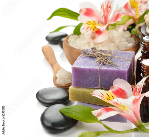 Soap and flowers