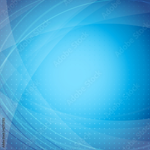 Blue modern abstract wave background
