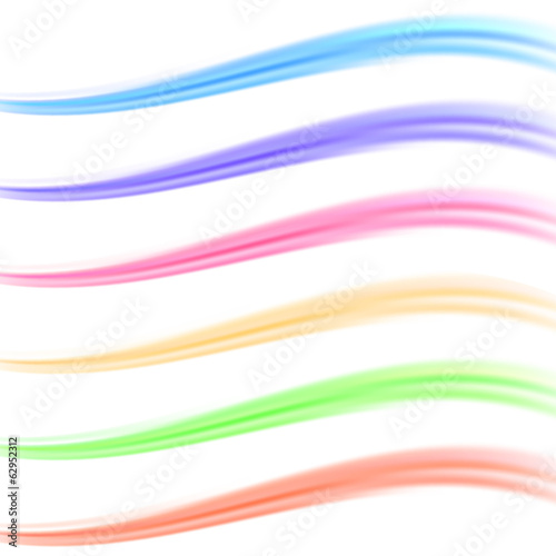 Colorful bright banner divider collection