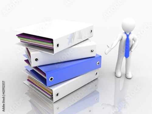 3D people-folder for documents