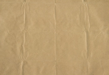 Recycled brown paper textured as background