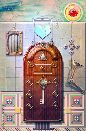 Magic door in the fairytales series