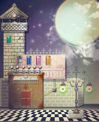 Starry night in the old place