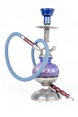 Eastern hookah isolated on white background