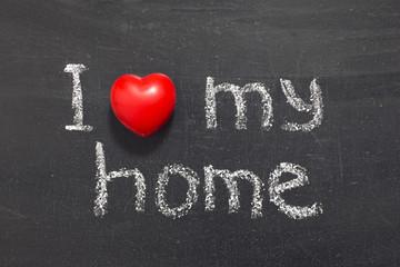 love my home