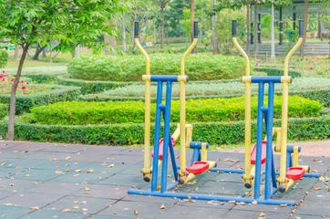 Outdoor gym park