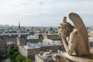 Bored Gargoyle of Notre Dame II