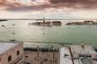 Canal San Marco vu d'en haut à Venise