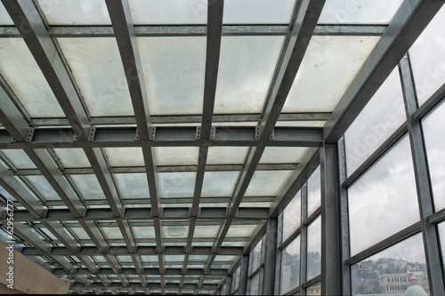 metallic building framework