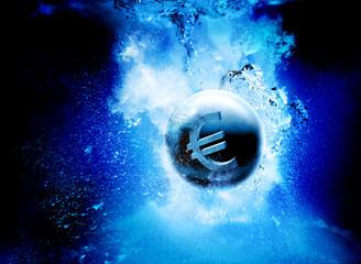 sinking euro