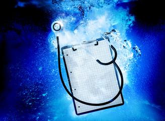 stethoscope underwater