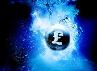sinking pound
