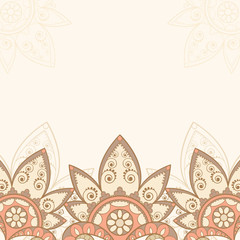 background with decorative element