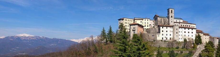 Die Wallfahrtskirche Castelmonte bei Cividale del Friuli